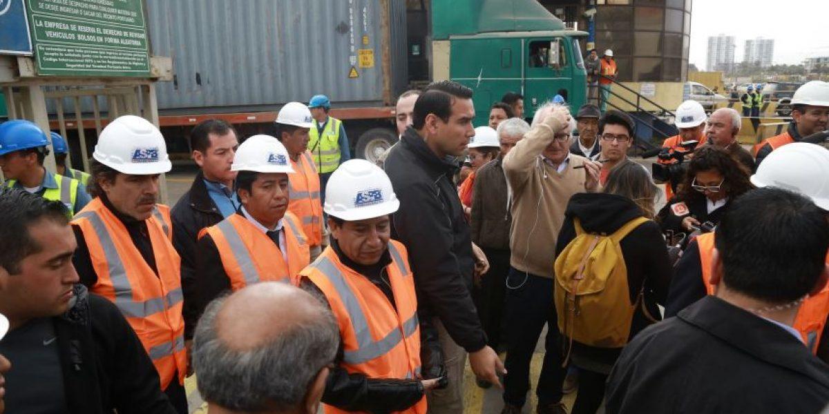 Choquehuanca tras no poder ingresar a puerto de Arica: