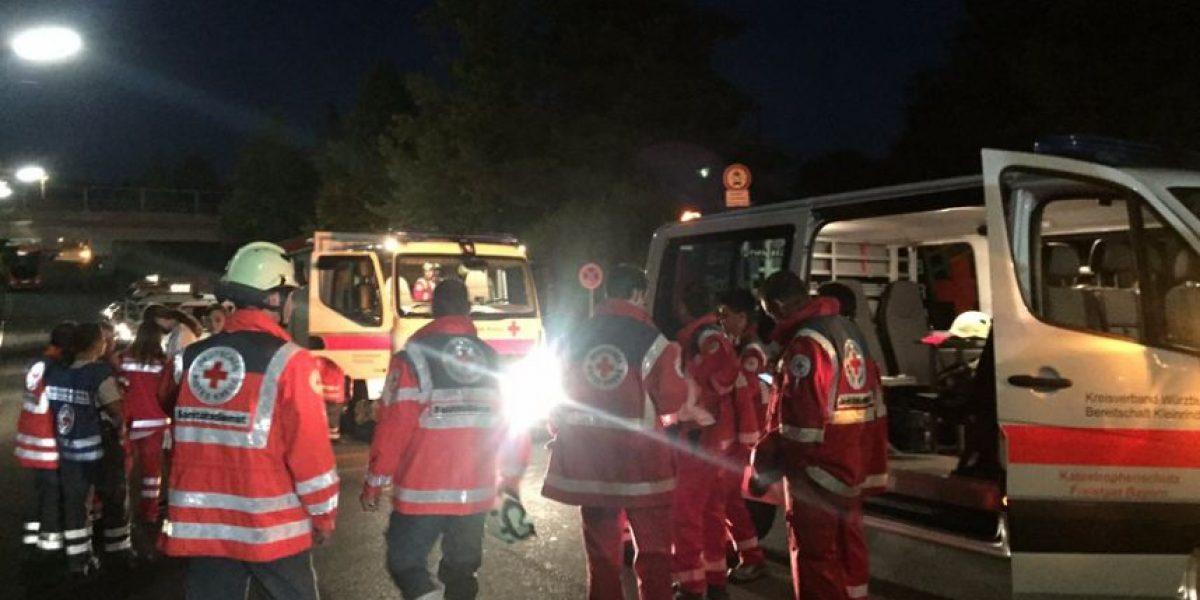 Sujeto ataca con hacha a pasajeros de tren en Alemania: autoridad admite