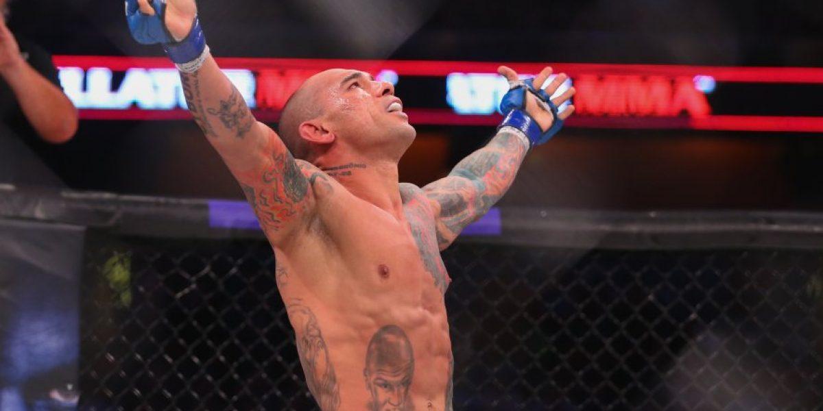 MMA: Michael Page le fracturó el cráneo a Evangelista Santos de un rodillazo