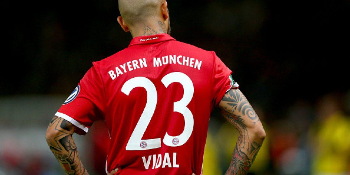 La UEFA dejó fuera de carrera a Arturo Vidal en la pelea ser el mejor jugador de Europa