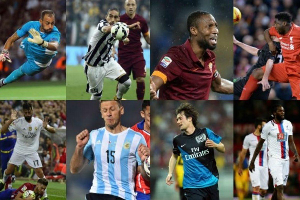 El once ideal de los jugadores libre del fútbol mundial. Imagen Por:
