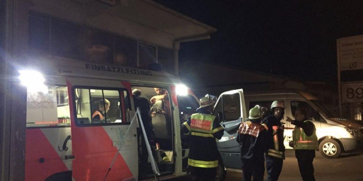 Hombre ataca a pasajeros de un tren en Alemania con un hacha