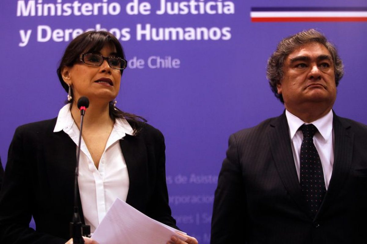 Javiera Blanco y Jaime Rojas Foto:Aton. Imagen Por: