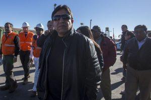 Delegación Boliviana encabezada por el canciller Choquehuanca inspecciona el puerto de Antofagasta. Foto:Aton. Imagen Por: