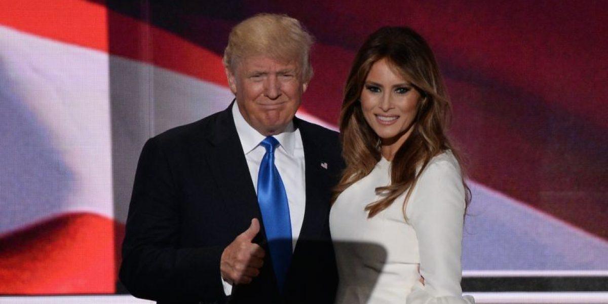 Acusan a esposa de Donald Trump de plagiar discurso de Michelle Obama de 2008