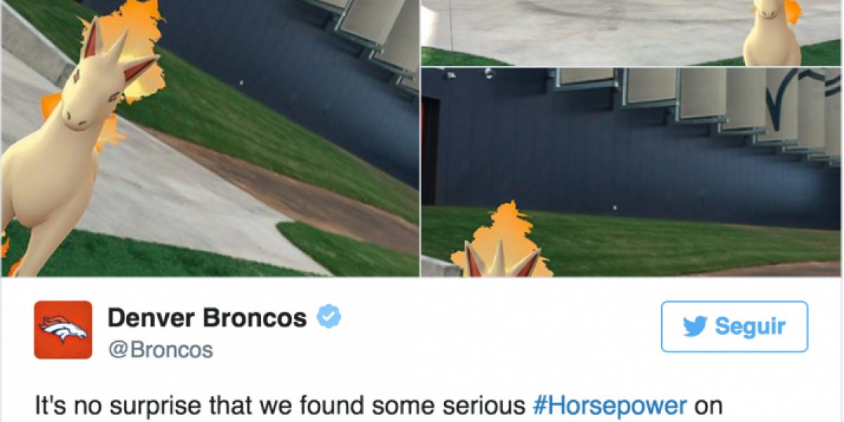 La locura por Pokémon Go también llega al deporte