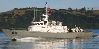 Armada realiza labores de búsqueda de tres pescadores desaparecidos en Calbuco