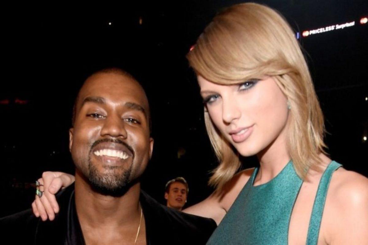 Kanye West y Taylor Swift Foto:Grosby Group. Imagen Por: