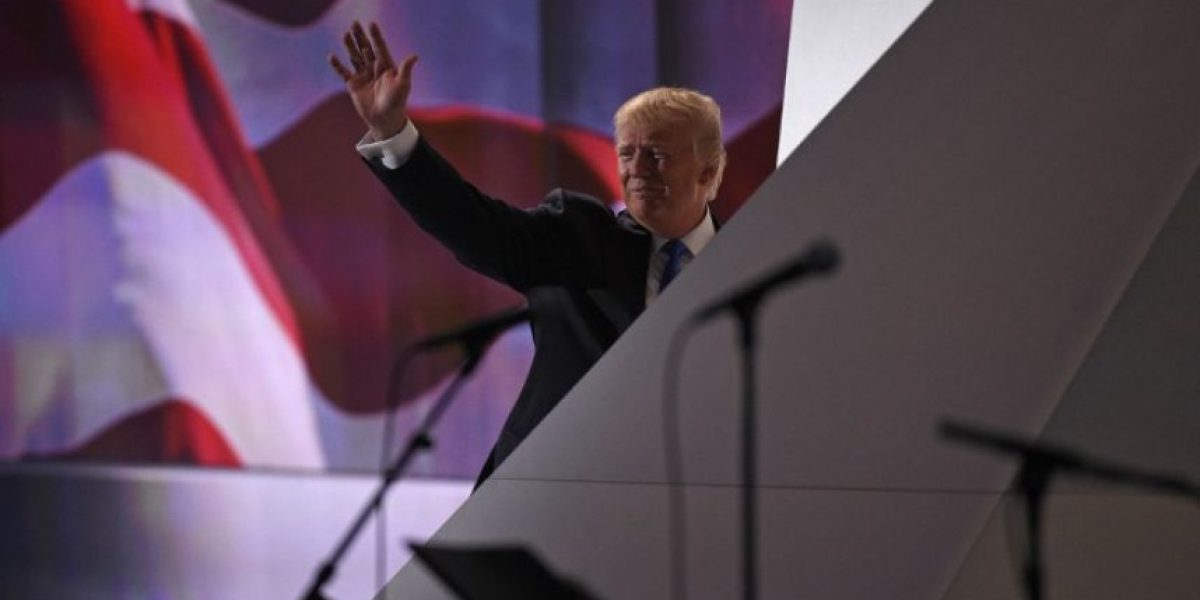 Trump en la convención republicana:
