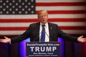 El virtual candidato presidencial, Donald Trump.. Imagen Por: