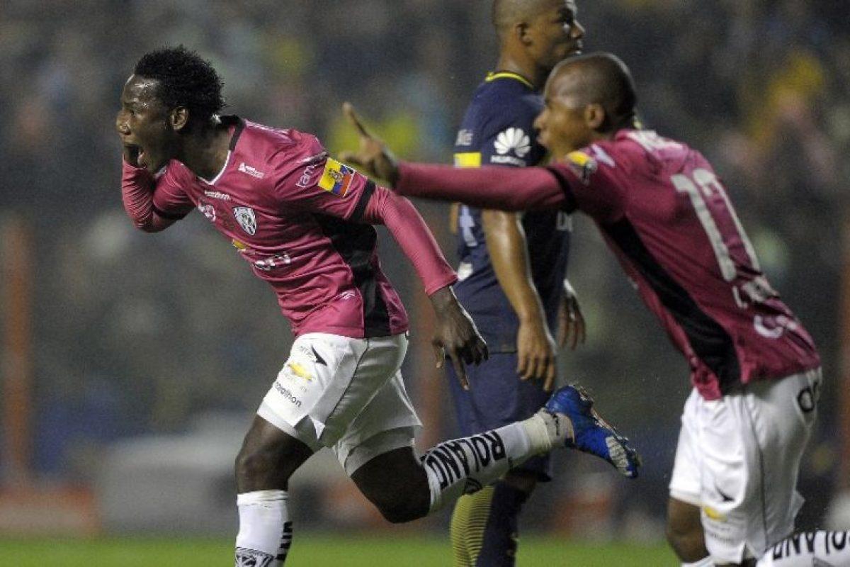 Independiente del Valle es la gran sorpresa de la Libertadores y avanzó a la final tras eliminar a Boca Juniors en semifinales Foto:AFP. Imagen Por: