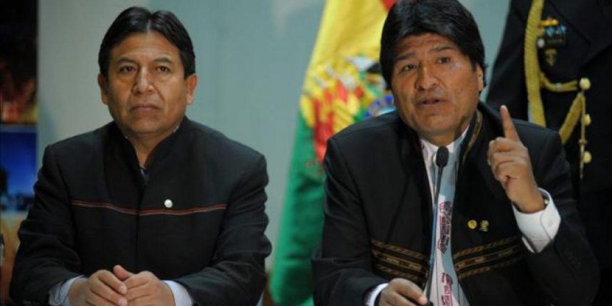 Evo se reúne con Choquehuanca tras polémica visita: