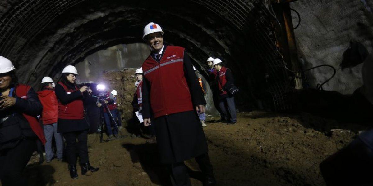 Línea 3 de Metro presenta un 56% de avance uniendo a cinco comunas