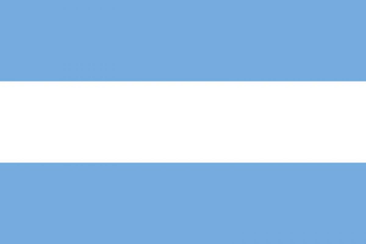 3. Primera bandera de las Provincias Unidas del Río de La Plata reconocida oficialmente, el 20 de julio de 1816.. Imagen Por: