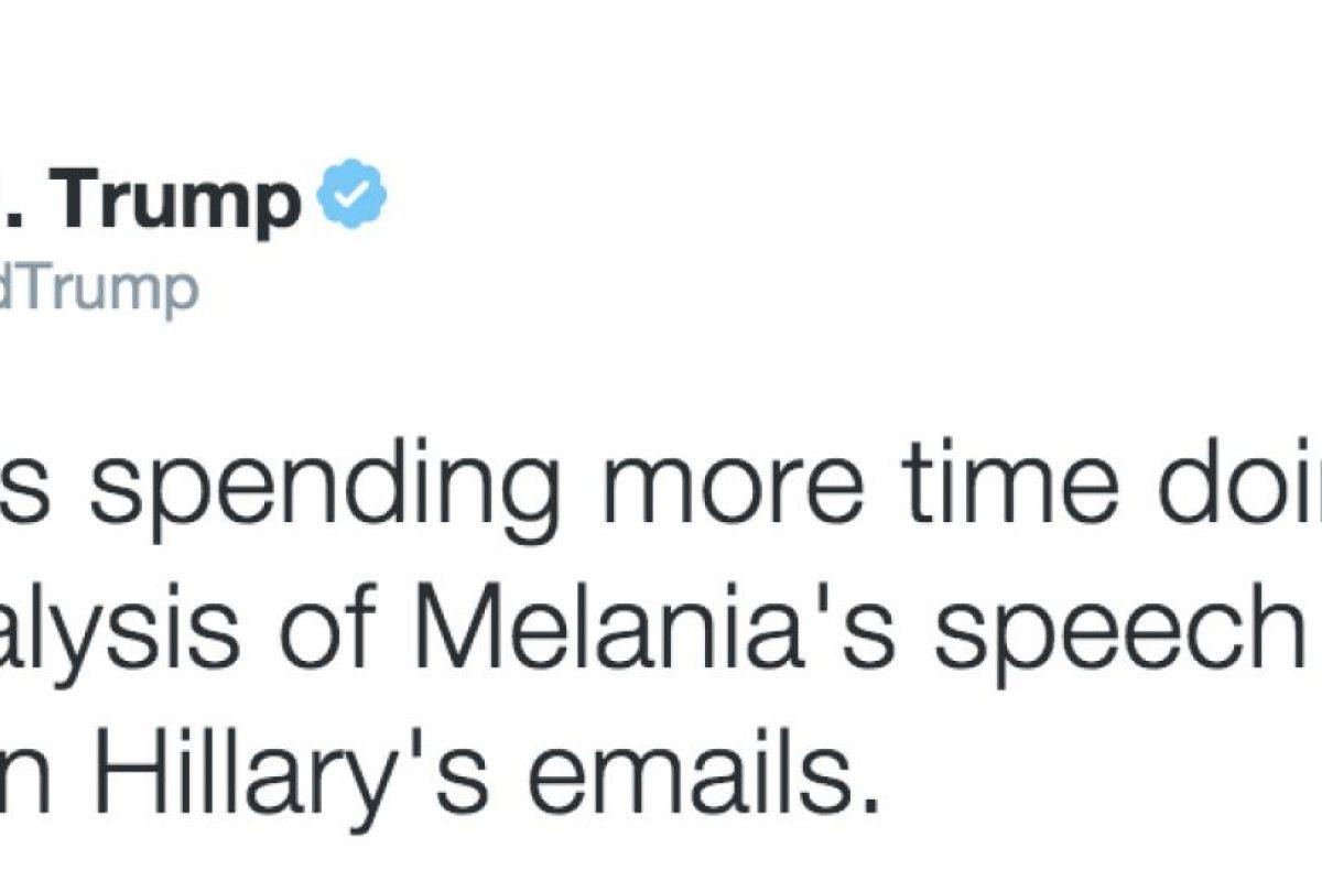 Foto:Twitter @realDonaldTrump. Imagen Por: