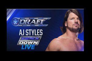 AJ Style Foto:WWE. Imagen Por:
