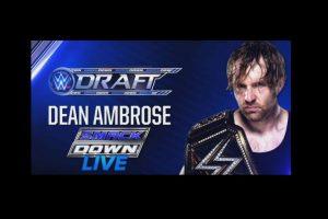 Las estrellas principales de SmackDown: Dean Ambrose Foto:WWE. Imagen Por: