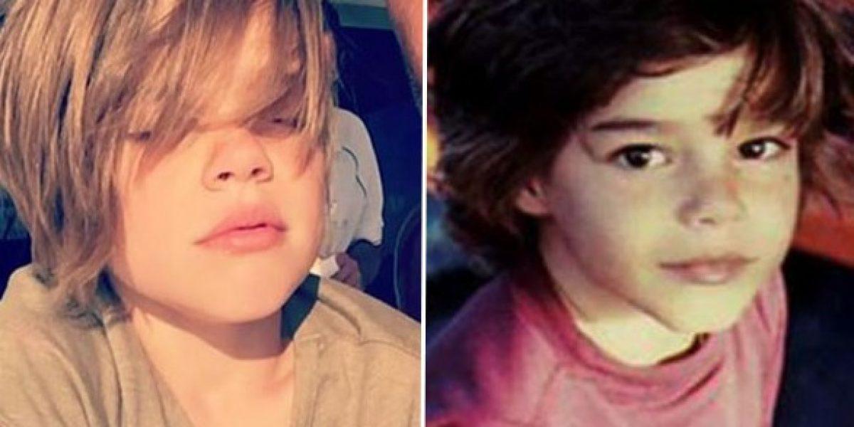 Estas fotos revelan el parecido entre Ricky Martin y sus hijos