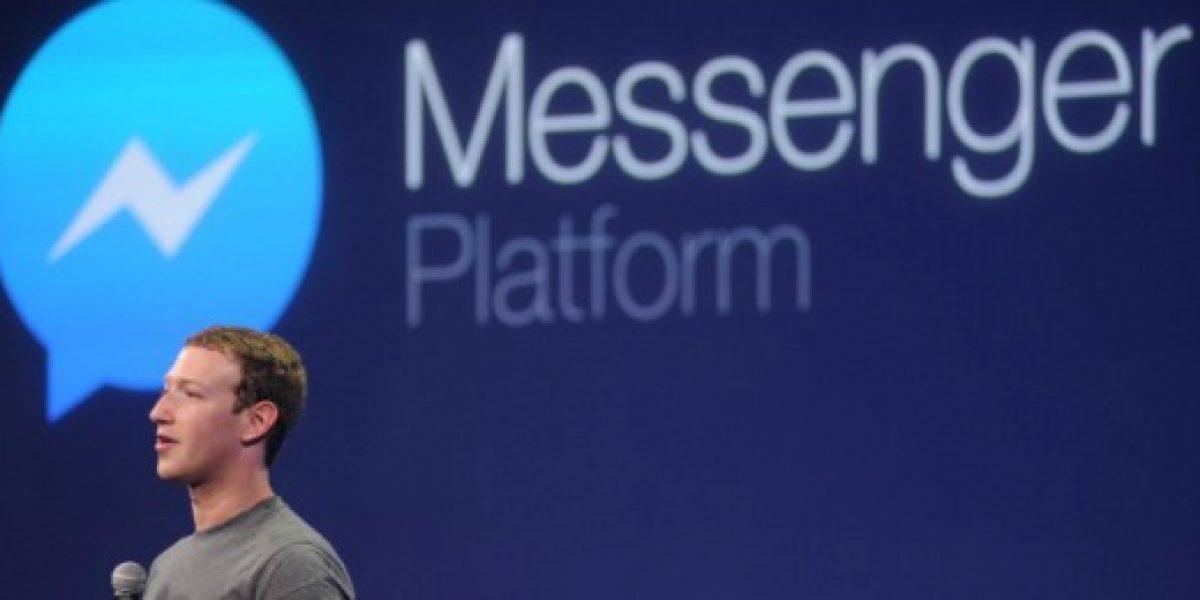 Facebook Messenger supera los mil millones de usuarios