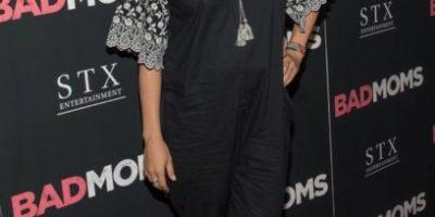 Mila Kunis decepcionó a sus admiradores con su look pre-mamá