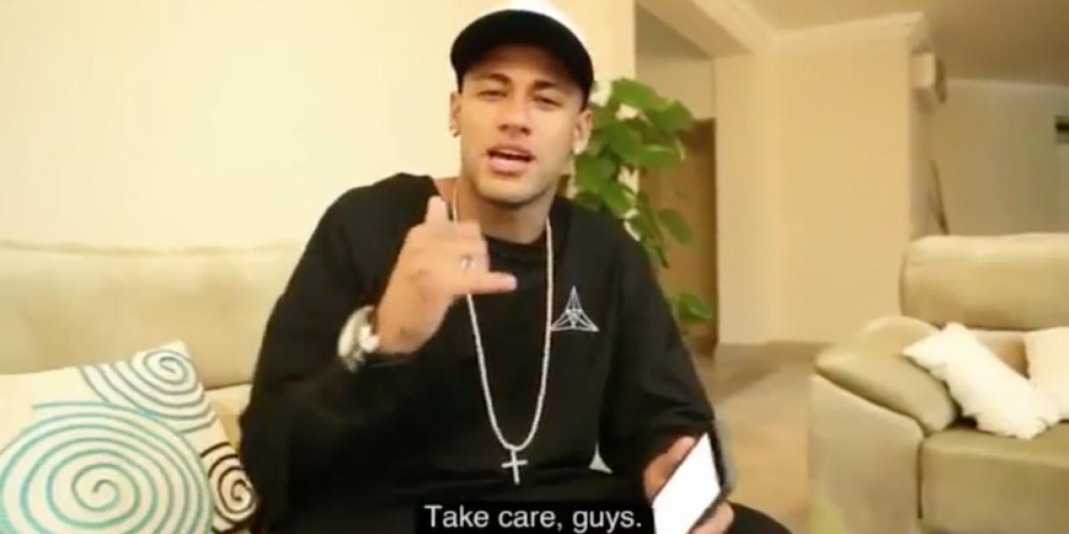 Neymar y el fundador de Facebook inician viral desafío