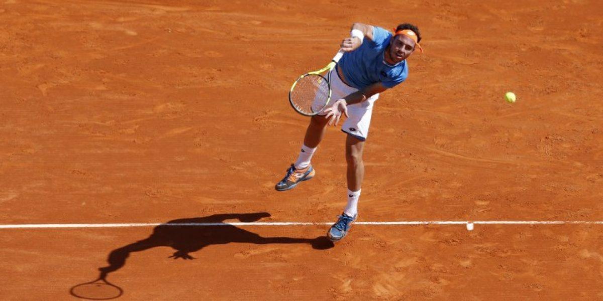 Tenista italiano es suspendido por 18 meses debido a arreglo de partidos