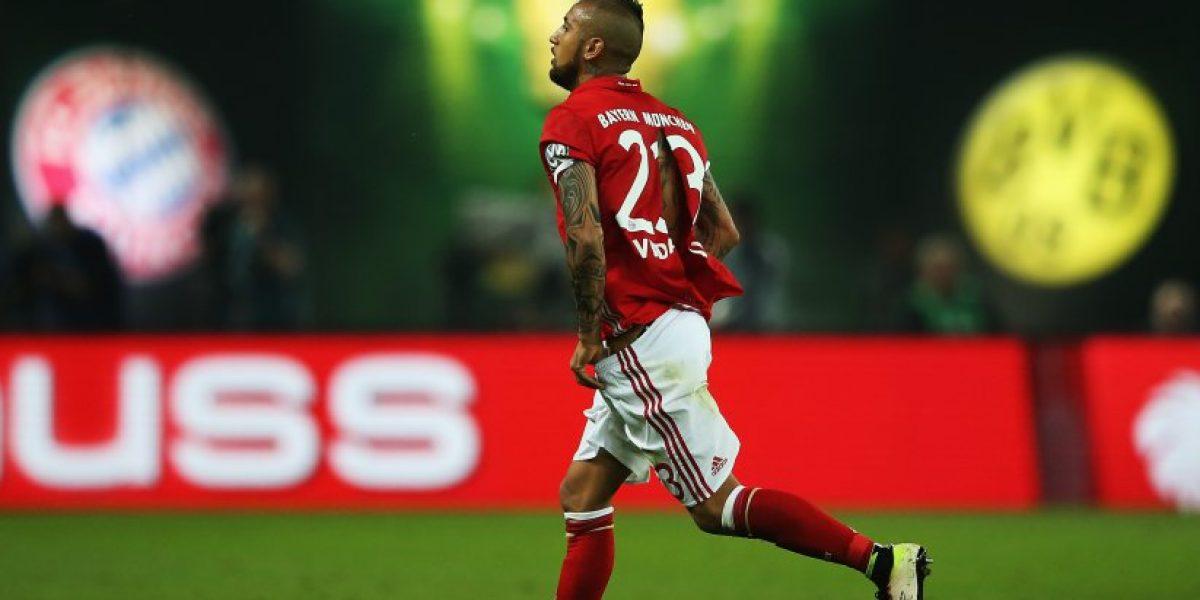 Ribery terminó con la camiseta rota el amistoso y Bayern Munich le mandó un recado al City