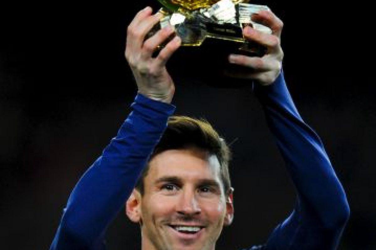 Nadie ha ganado tantos galardones de este tipo como él Foto:Getty Images. Imagen Por: