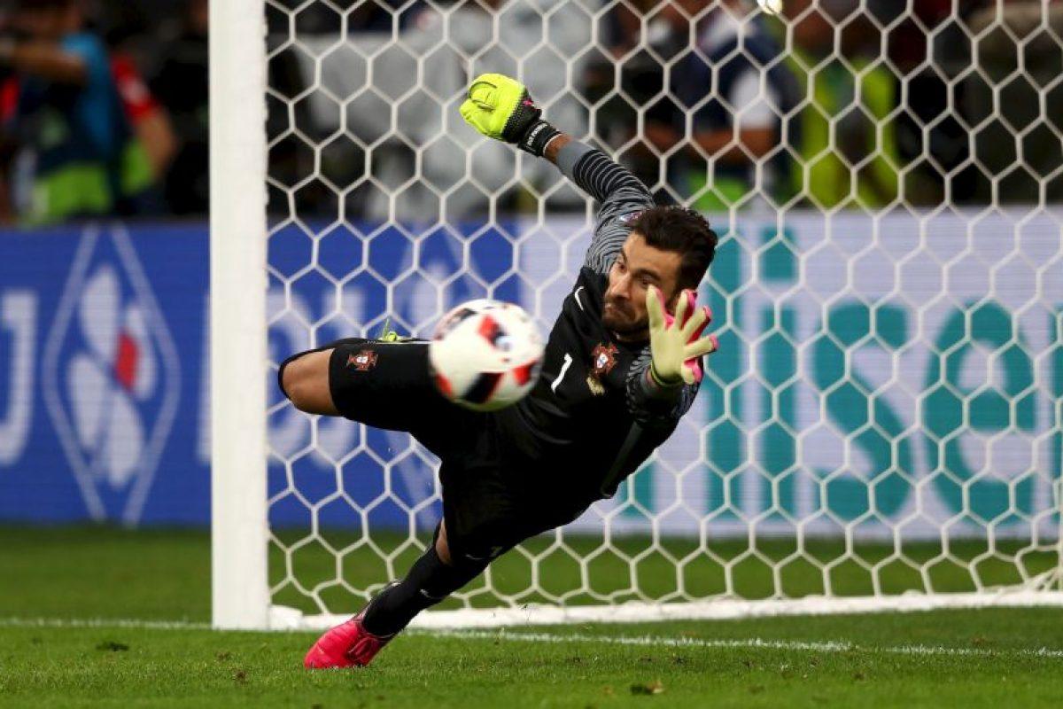 El portero fue clave en el título de Portugal en la pasada Eurocopa Foto:Getty Images. Imagen Por: