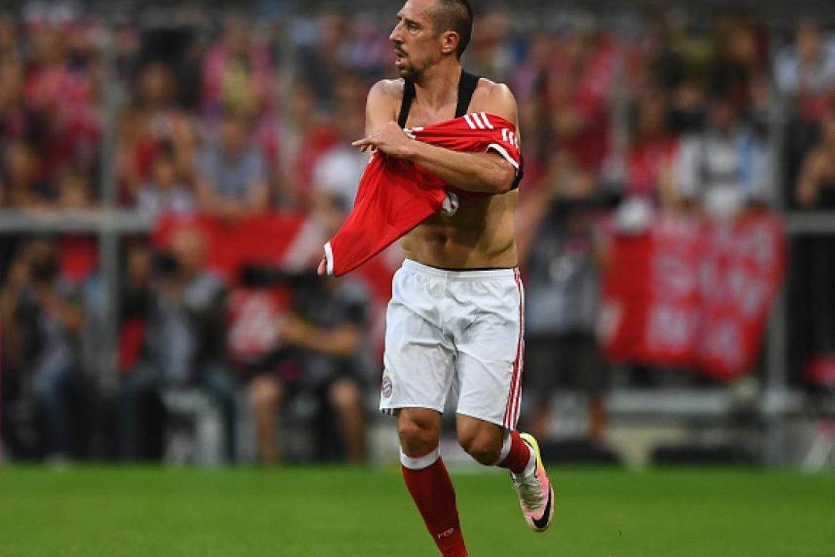 Ribery siguió jugando y fue la gran figura de la victoria de Bayern Munich por 1 a 0 ante Manchester City Foto:Getty Images. Imagen Por:
