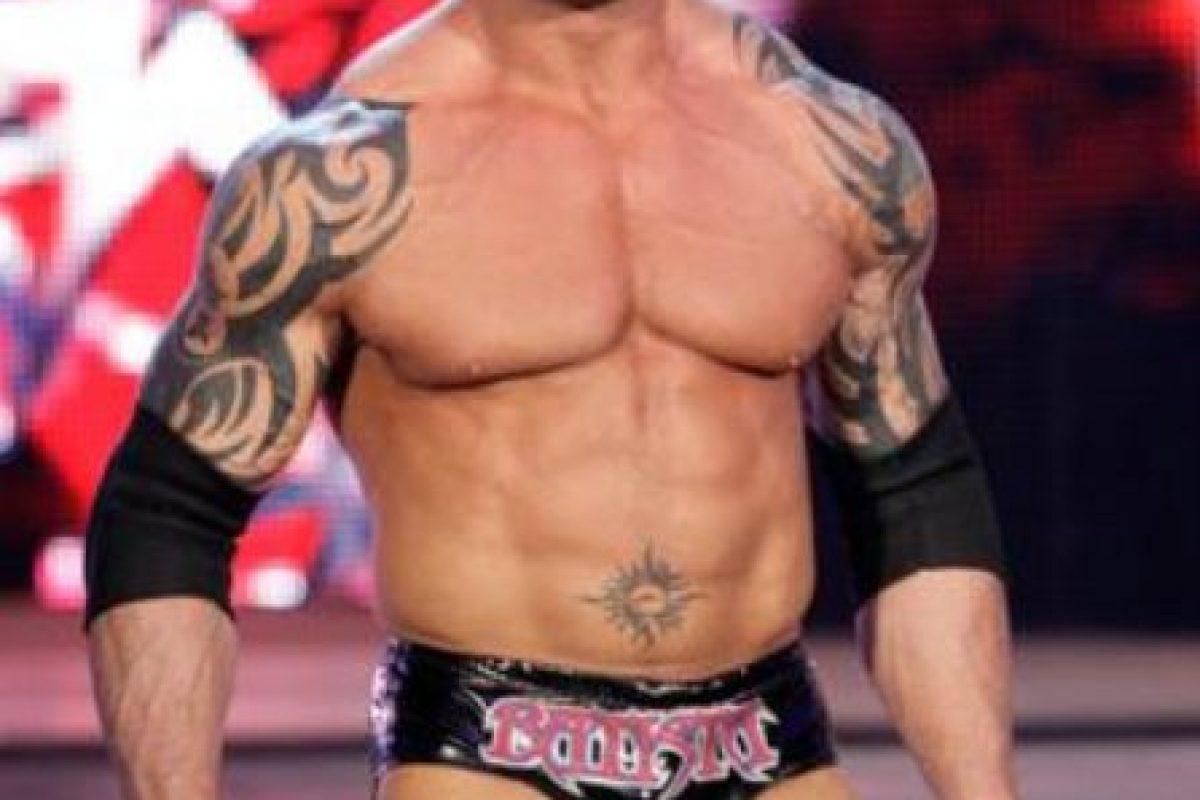 Ahora Batista triunfa en el mundo del cine. Foto:WWE. Imagen Por: