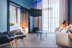 La pieza más básica tendrá un costo de 215 euros por noche Foto:Sitio web Pestana CR7. Imagen Por: