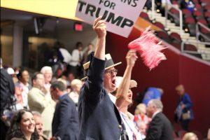Gritos de apoyo reinaron en la convención a favor de Danald Trump. Foto:Publimetro. Imagen Por: