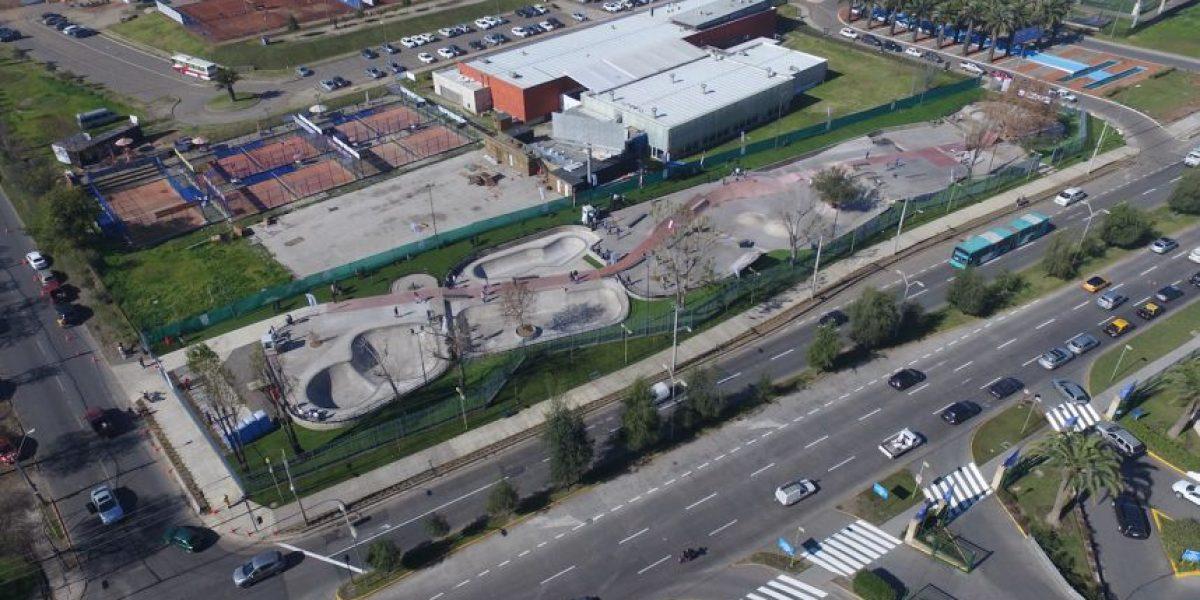 Las Condes inaugura segundo streetpark de la comuna