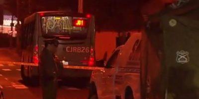 Antes protagonizó un robo: joven de 16 años muere al ser atropellado por bus del Transantiago