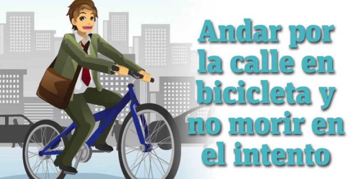 Infografía: andar por la calle en bicicleta y no morir en el intento