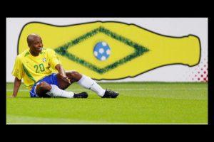 Edilson da Silva Ferreira fue campeón del mundo en 2002 con Brasil Foto:Getty Images. Imagen Por:
