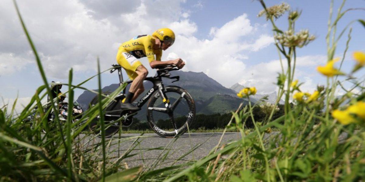 Chris Froome sentencia el Tour de Francia con categórica victoria en la 18ª etapa