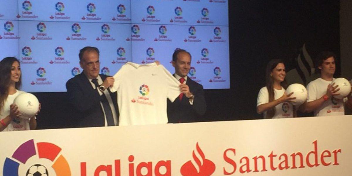 La Liga española de fútbol se