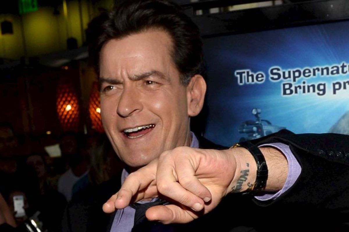 Charlie Sheen Foto: Getty Images. Imagen Por: