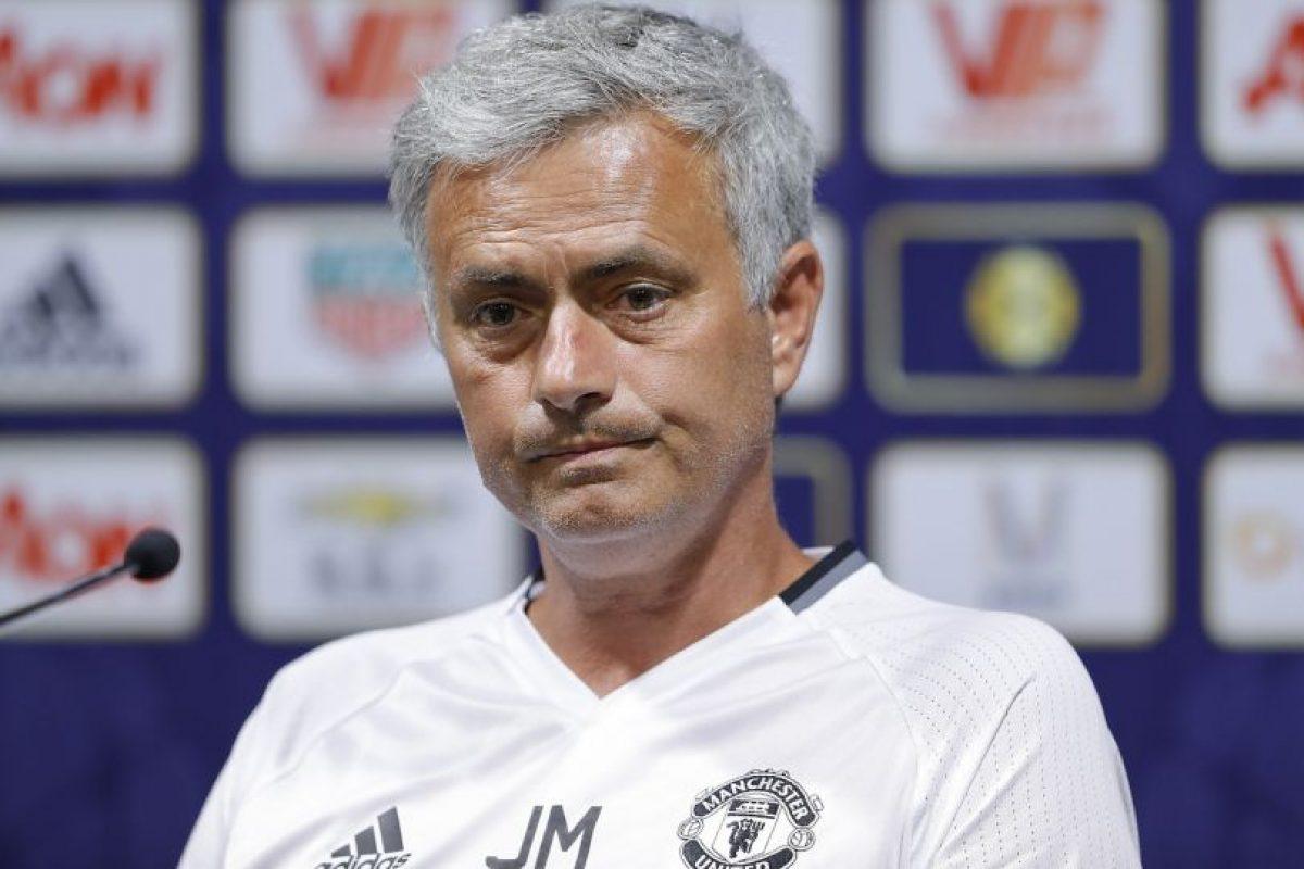 La decisión de José Mourinho fue cuestionada por muchos, pero salió a explicarla de manera notable Foto:Getty Images. Imagen Por: