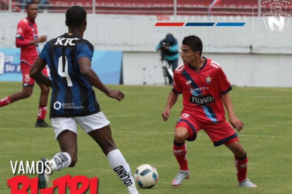 Independiente del Valle está en la atención del mundo futbolístico por la final de la Libertadores Foto:Twitter El Nacional. Imagen Por: