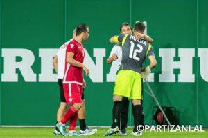 Gracias a su gran actuación, Partizani pudo avanzar otra ronda más en la fase clasificatoria Foto:Facebook Partizani. Imagen Por: