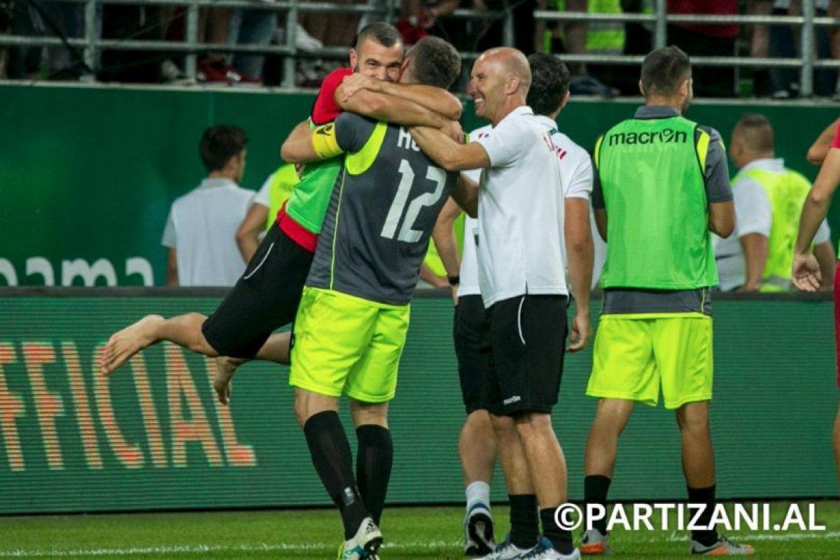 Foto:Facebook Partizani. Imagen Por: