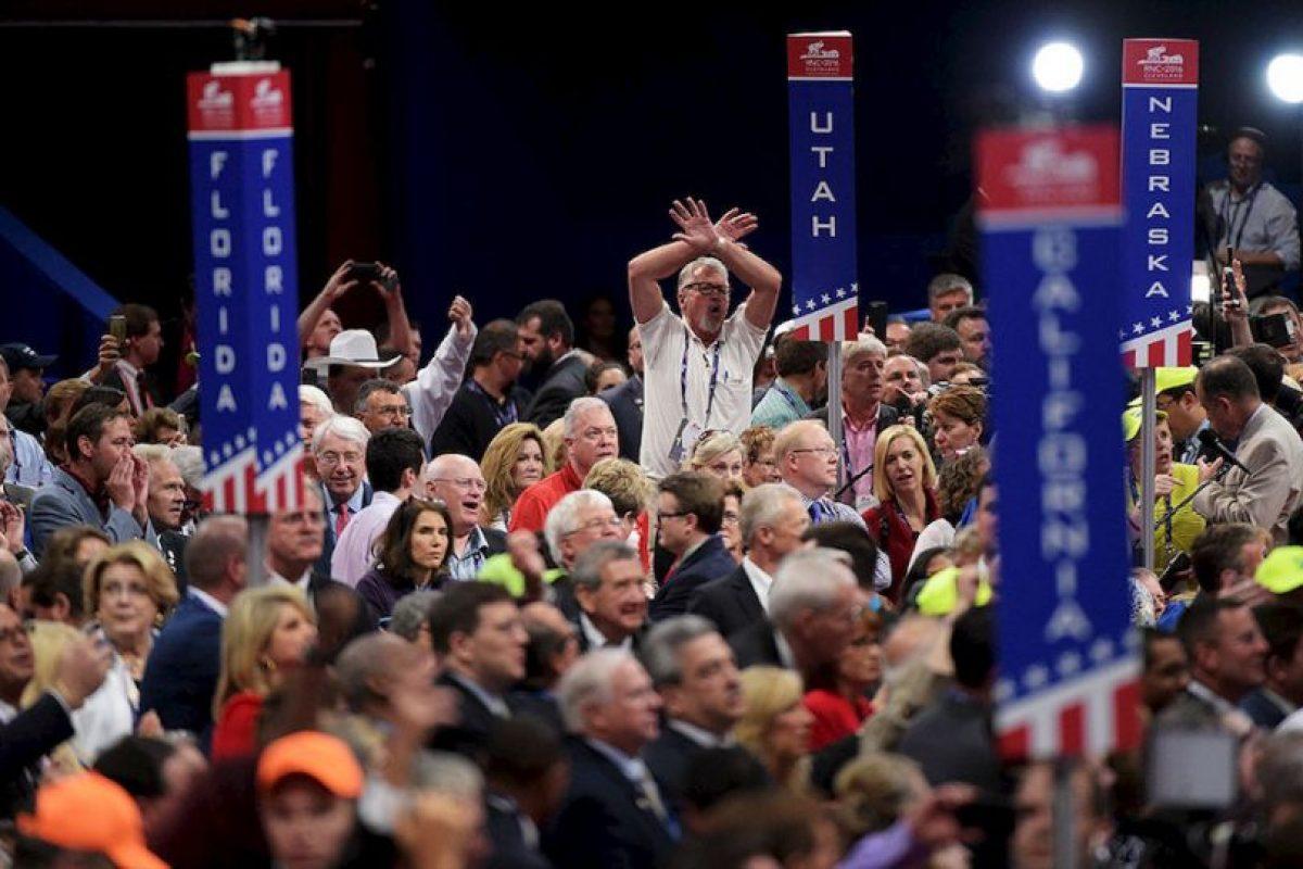 """Ostentan un orgullo patrio, tan claro como el orgullo que sienten de pertenecer al """"partido de Abraham Lincoln"""" Foto:Getty Images. Imagen Por:"""