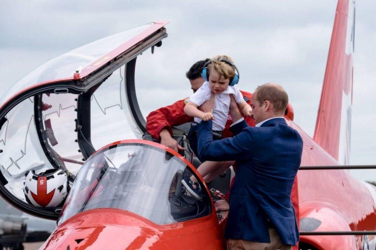 Su más reciente aparición pública fue en un espectáculo de la Fuerza Aérea Británica Foto:Royal.uk. Imagen Por: