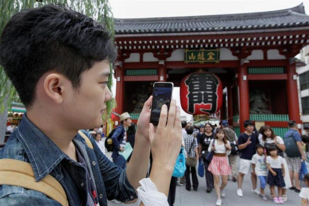 La entrada en Japón ha sido el debut de Pokémon GO en Asia, donde se desconoce cuándo estará accesible en otros países, aunque parece improbable que lo haga en China. Foto:Efe. Imagen Por: