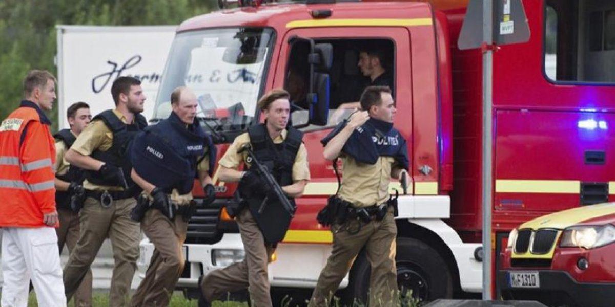 Las imágenes del operativo policial tras tiroteo en centro comercial de Munich