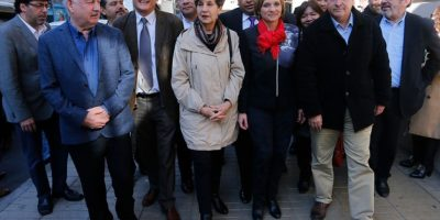 Nueva Mayoría inscribe ante el Servel candidatos a alcaldes de todo el país