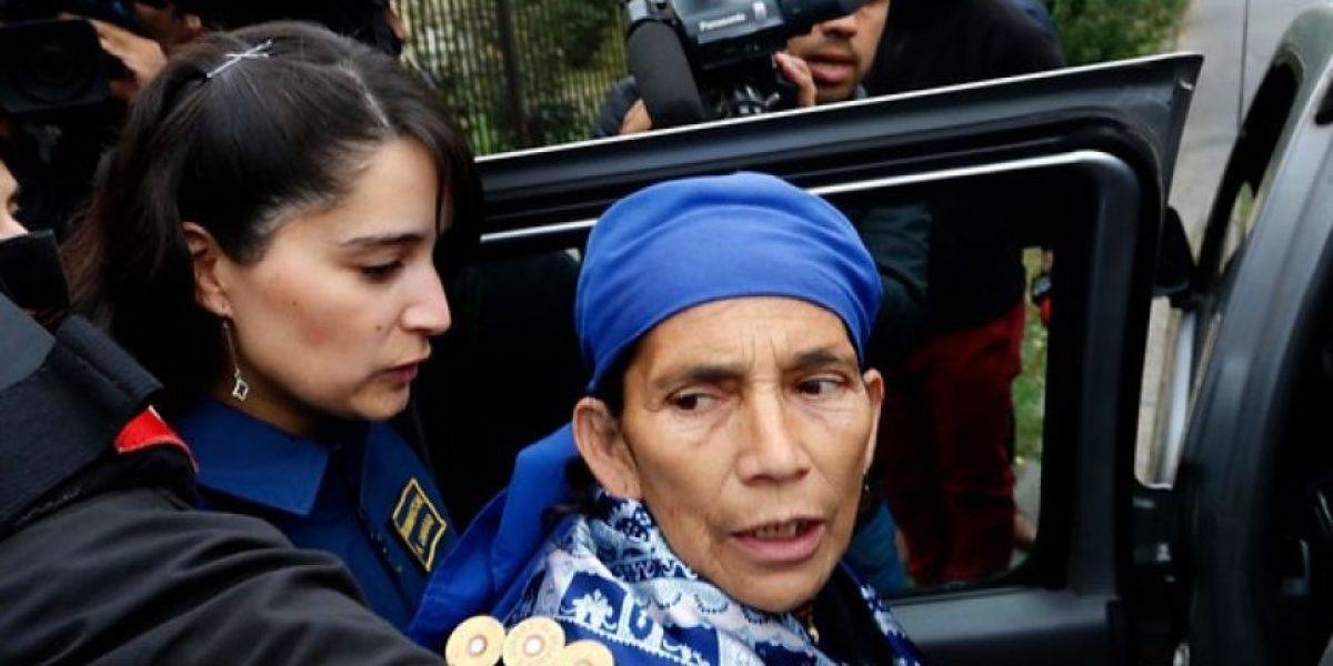 Corte de Temuco ordenó prisión preventiva para machi Linconao